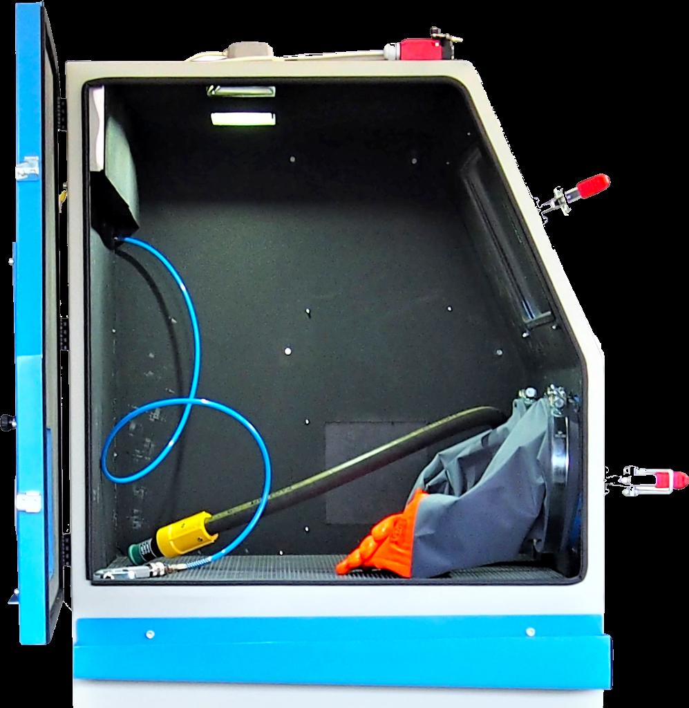 Innowacyjna piaskarka kabinowa B120